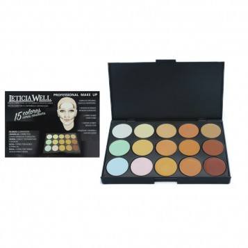 PALETTE CONTOURING & CORRECTRICE LETICIA WELL