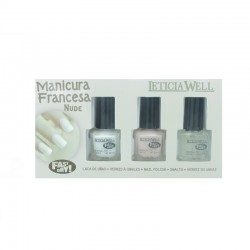 KIT FRENCH MANUCURE NUDE LETICIA WELL