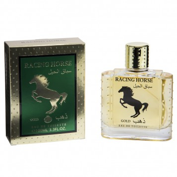 EAU DE TOILETTE RACING HORSE GOLD