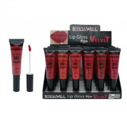 LIP GLOSS MAT VELVET LETICIA WELL