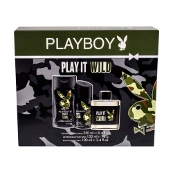 COFFRET PLAYBOY PLAY IT WILD FOR HIM