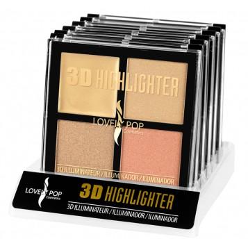 3D HIGHLIGHTER LOVELY POP