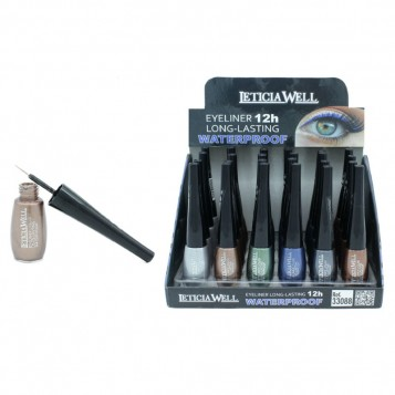 EYE LINER LONGUE TENUE 12H WATERPROOF LETICIA WELL