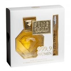 Coffret eau de parfum Fine Gold Women