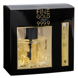 COFFRET EAU DE TOILETTE FINE GOLD MEN