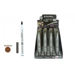 LIQUID EYEBROW PEN TATOO NOIR LETICIA WELL