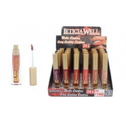 MATTE LIPGLOSS LONG LASTING LETICIA WELL
