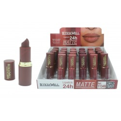 ROUGE A LÈVRES LIP STICK MATTE 24 H LETICIA WELL