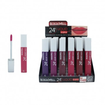 LIP GLOSS MATTE LETICIA WELL