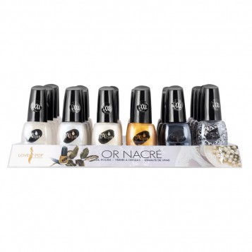 VERNIS A ONGLES OR NACRE