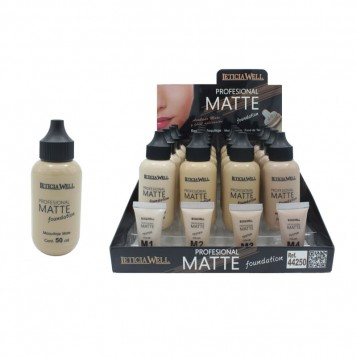 LETICIA WELL PROFESSIONAL MATTE FOUNDATION