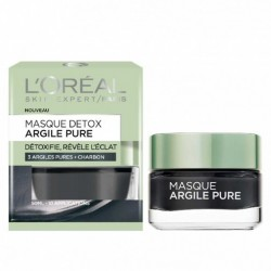 MASQUE ARGILE PURE L'OREAL PARIS