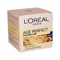 SOIN RICHE RE-FORTIFIANT DE NUIT AGE PERFECT GOLDEN AGE L'ORÉAL PARIS