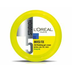 L'OREAL PARIS STUDIO LINE 5 INVISI'FIX GEL-CREME MODELANTE 24H