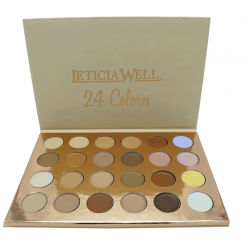 PALETTE CORRECTRICE 24 COULEURS LETICIA WELL