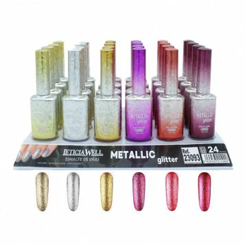 VERNIS A ONGLES EFFET METTALIC LETICIA WELL
