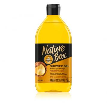 NATURE BOX MACADAMIA OIL SHOWER GEL