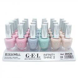 VERNIS GEL INFINITY SHINE 520 LETICIA WELL