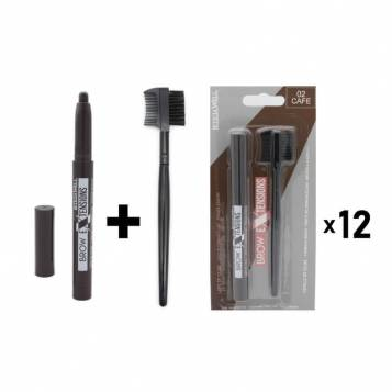 LETICIA WELL COFFEE BROW BRUSH & PENCIL