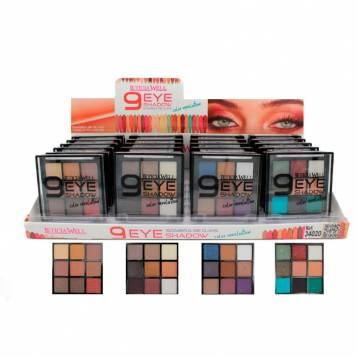 LETICIA WELL 9 COLORS REVOLUTION EYESHADOW