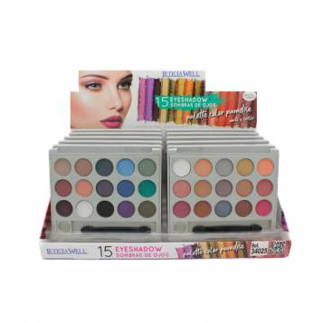 LETICIA WELL 15 COLORS PARADISE EYESHADOW