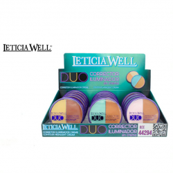 LETICIA WELL CONCEALER & HIGHLIGHTER CREAM