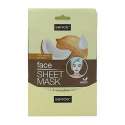 SENCE COCONUT FACE SHEET MASK